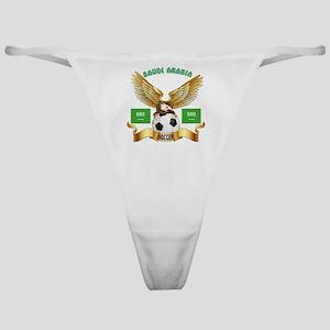Saudi Arabia Football Designs Classic Thong