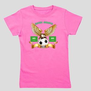Saudi Arabia Football Designs Girl's Tee