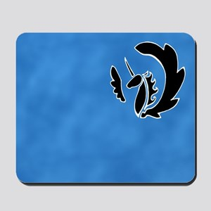 Alicorn Mousepad (Black)