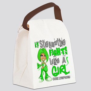 D Stepmother Fights Like Girl Lym Canvas Lunch Bag