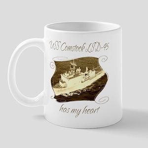 USS Comstock LSD-45 Mugs