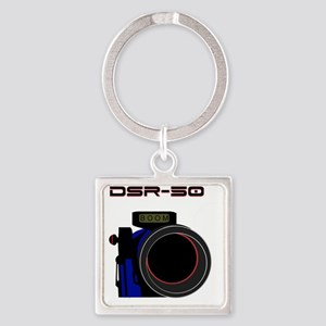 DSR-50 Square Keychain