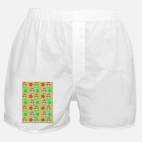 Twin Duvent Matryoshka Boxer Shorts