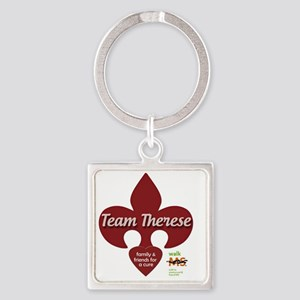 Team Therese MS Walk 2013 Square Keychain