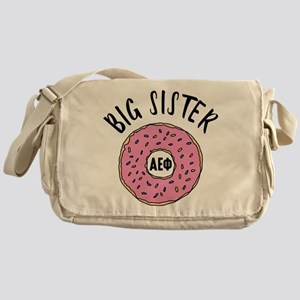 Alpha Epsilon Phi Big Donut Messenger Bag