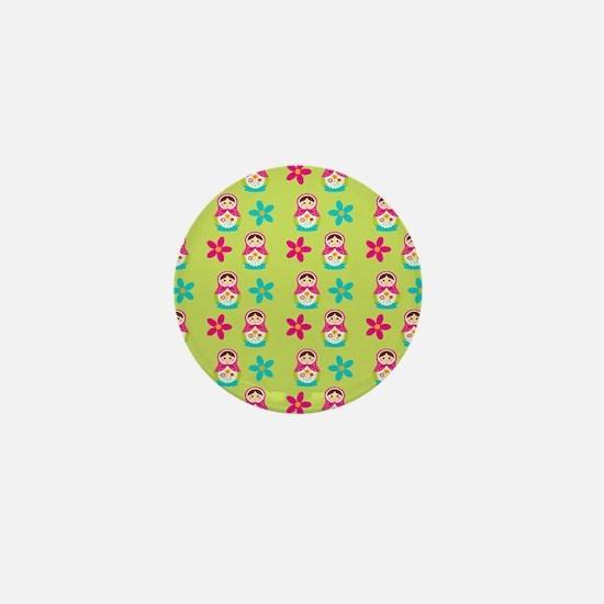 Matryoshka Duvet Cover Mini Button