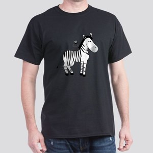 Z Is For Zebra Dark T-Shirt