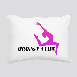 Gymnast 4 Life Rectangular Canvas Pillow