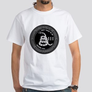 Dont Tread On Me! White T-Shirt