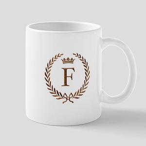 Napoleon initial letter F monogram Mug