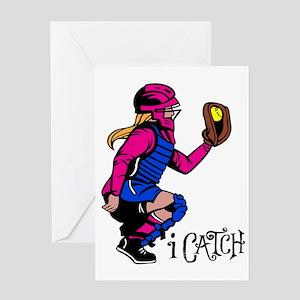 iCatch Greeting Card