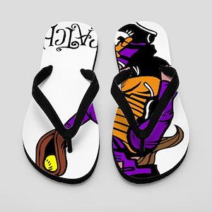 purple iCatch Flip Flops