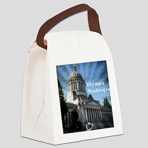 Olympia Washington Canvas Lunch Bag