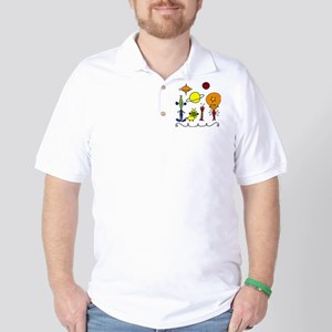 Out of This World Golf Shirt