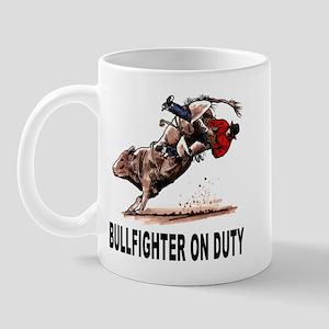 Bullfighter on Duty Mug