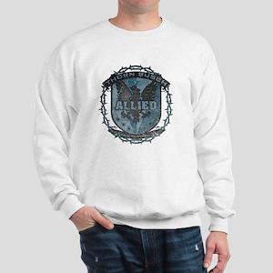 Faded Blue Allied Thorn Busch 2013 Sweatshirt