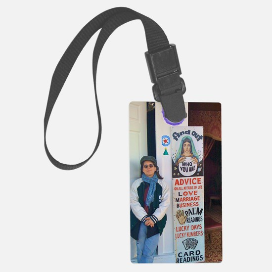 Lauren by psychic sign Luggage Tag