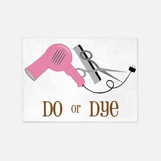 Do Or Dye 5'x7'Area Rug