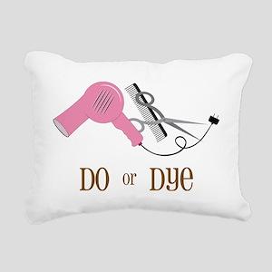 Do Or Dye Rectangular Canvas Pillow