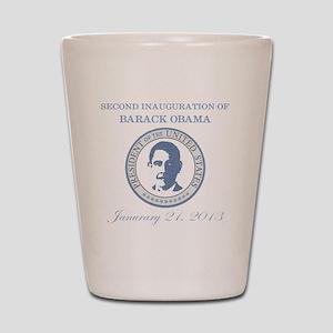 Second Inauguration: Shot Glass