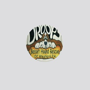 Droopy Logo Mini Button