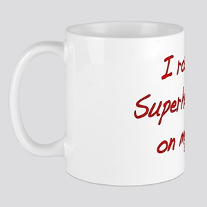 I rock Superhero Scar -Red Mug