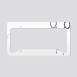 Clipping License Plate Holder