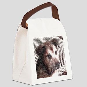 Man's Best Friend Canvas Lunch Bag