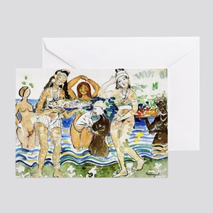 Maurice Prendergast Sea Maiden Greeting Card