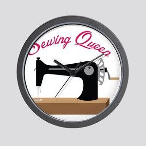 Sewing Queen Wall Clock