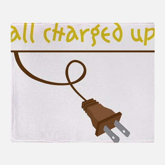 All Charged Up Throw Blanket