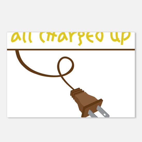 All Charged Up Postcards (Package of 8)