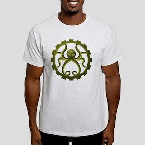 octo-gear (green) Light T-Shirt