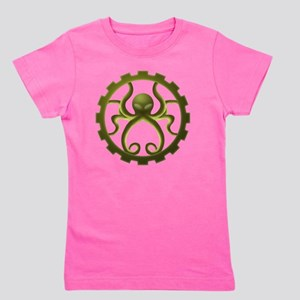 octo-gear (green) Girl's Tee