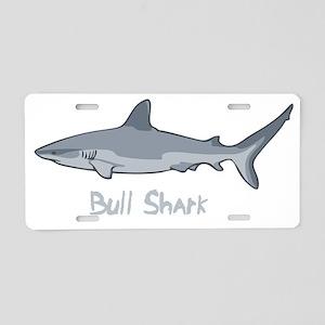 bullshark2-DKT Aluminum License Plate