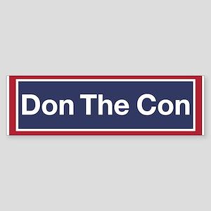 Don The Con Bumper Sticker