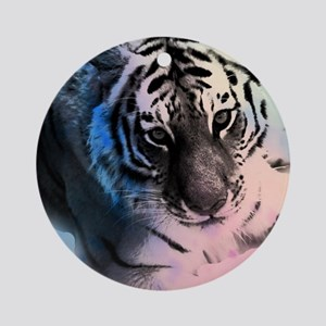 Pastel Tiger Round Ornament