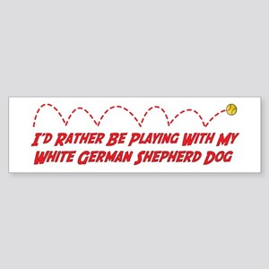 Shepherd Play Bumper Sticker
