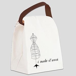 Make It Work Canvas Lunch Bag