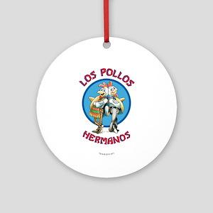 Los Pollos Hermanos Ornament (Round)