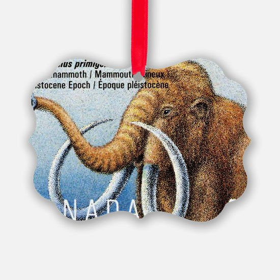 1994 Canada Woolly Mammoth Postag Ornament