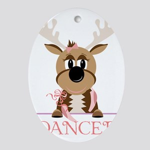 Dancer Oval Ornament