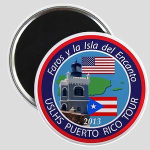 Puerto Rico Lighthouse Tour Magnet