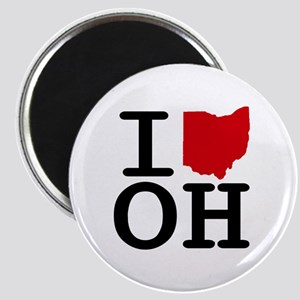 I Heart Ohio Magnet