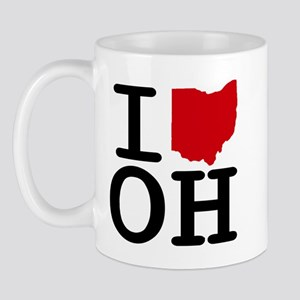 I Heart Ohio Mug
