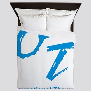 OT, blue Queen Duvet