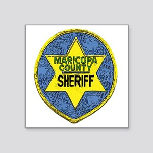 "Maricopa County Sheriff pat Square Sticker 3"" x 3"""