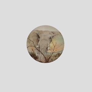 Ele Africa Mini Button