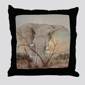Ele Africa Throw Pillow