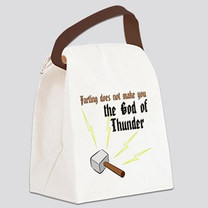 Farting Does Not Make You the God Canvas Lunch Bag